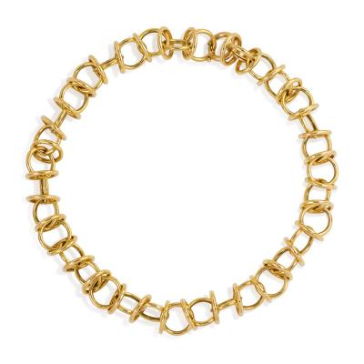 Paloma Picasso Paloma Picasso for Tiffany Estate Gold Link Necklace