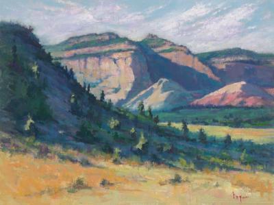 Pamela Ingwers Dawn in the Valley Carmel
