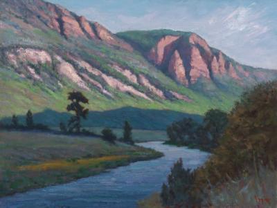 Pamela Ingwers River to Redstone 12 x 16