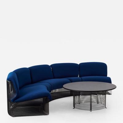 Panton Pantonova Panton Pantonova sofa and table Fritz Hansen Denmark c1971