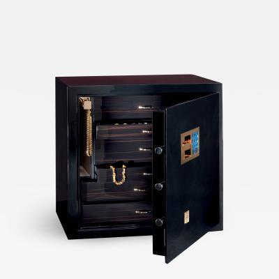 Paolo Agresti Agresti Nero Segreto Contemporary Armored Jewelry Case Safe