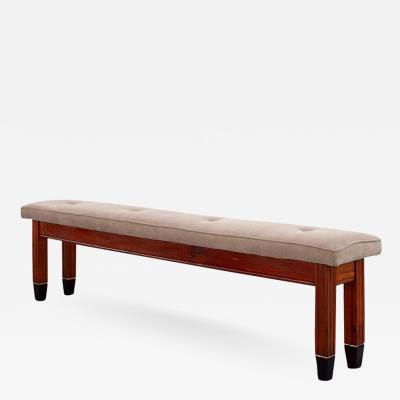 Paolo Buffa 1940S ITALIAN OAK BENCH