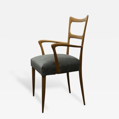 Paolo Buffa A Pair of Maple Armchairs