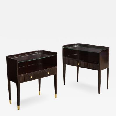Paolo Buffa Almost pair of Side Tables by Paolo Buffa