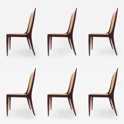 Paolo Buffa Arch Paolo Buffa set of six dining chairs