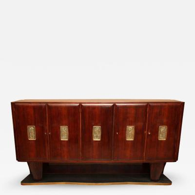 Paolo Buffa Art Deco Cabinet by Paolo Buffa circa 1950