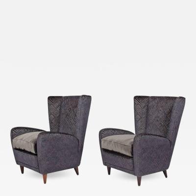 Paolo Buffa Easy Chairs by Paolo Buffa from the Bristol Hotel