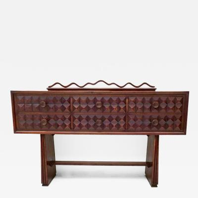 Paolo Buffa Ebonized Oak Dresser by Paolo Buffa 1950s