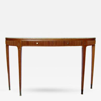 Paolo Buffa Italian 1950s Console Table by Paolo Buffa