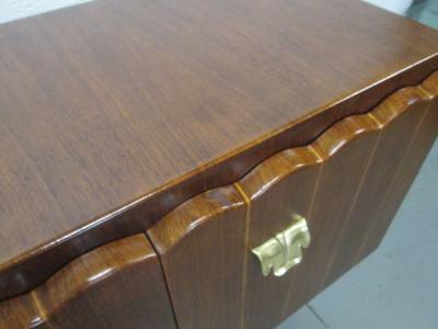 Paolo Buffa Italian Art Deco Cabinet Style of Paolo Buffa