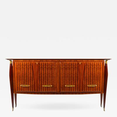Paolo Buffa Italian Design Mid century Sideboard or Bar in the Style of Paolo Buffa 1950s
