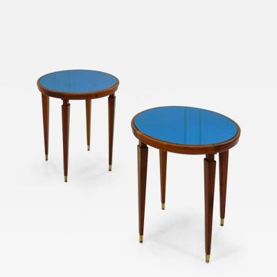 Paolo Buffa Late 1940s Paolo Buffa Pair of Side Tables