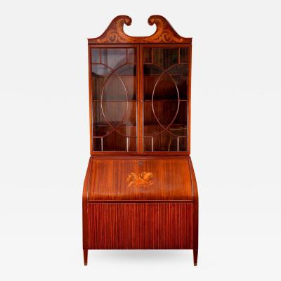 Paolo Buffa Midcentury Trumeau Bookcases or Cabinets by Paolo Buffa 1940