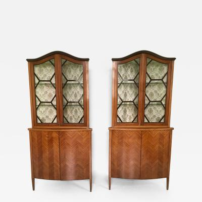 Paolo Buffa Pair of Corner Cupboard Ascribable to Paolo Buffa 1940s