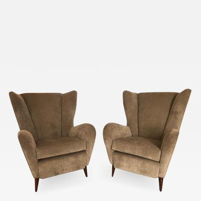 Paolo Buffa Pair of Paolo Buffa Arm Chairs