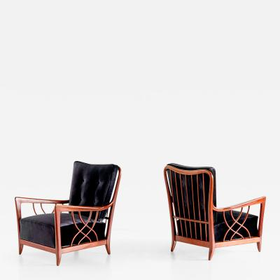 Paolo Buffa Pair of Paolo Buffa Armchairs Late 1940s