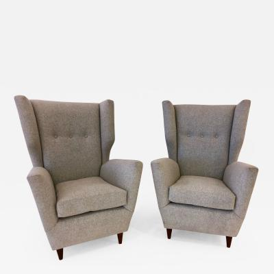 Paolo Buffa Pair of Paolo Buffa Club Chairs