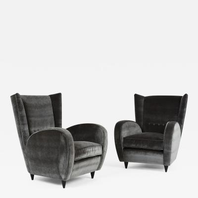 Paolo Buffa Pair of Paolo Buffa Lounge Chairs