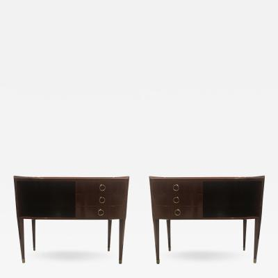 Paolo Buffa Pair of Unique Commodes By Paolo Buffa