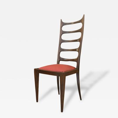 Paolo Buffa Paolo Buffa Attributed High Back Chair