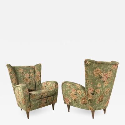 Paolo Buffa Paolo Buffa armchairs Pair