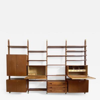 Paolo Buffa Paolo Buffa unique book case with shelves and cabinets