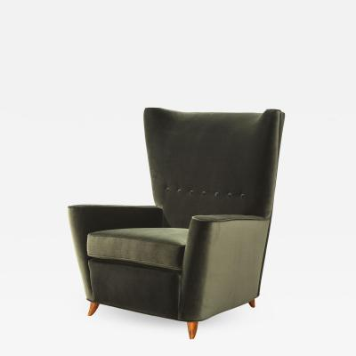 Paolo Buffa Rare Lounge Chair by Paolo Buffa