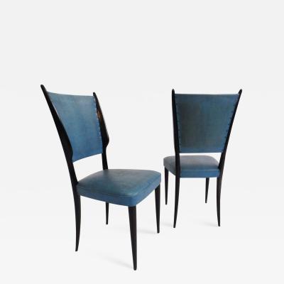 Paolo Buffa Set of 6 Dining Chairs Paolo Buffa Style