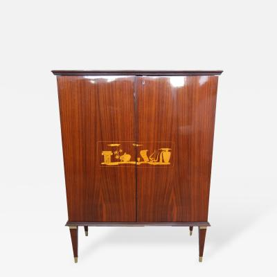 Paolo Buffa Superb Art Deco Bar or Cabinet