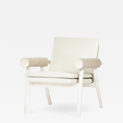 Paolo Ferrari ROLLED ARM Lounge Chair