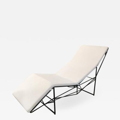 Paolo Passerini Sculptural Chaise Longue by Paolo Passerini for UVET Italy 1980s