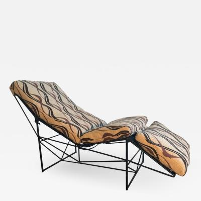 Paolo Passerini Sculptural Chaise Lounge by Paolo Passerini 1985
