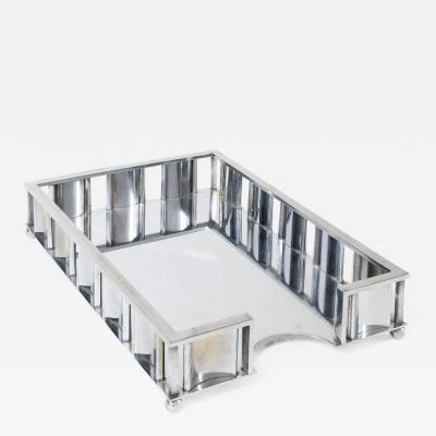 Paper tray by Jacques Adnet