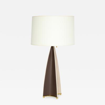 Parabolic Fin Table lamp by Gerald Thurston for Lightolier
