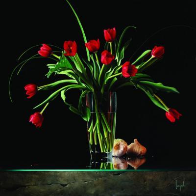 Passione Eterna Contemporary Giclee by Dario Campanile