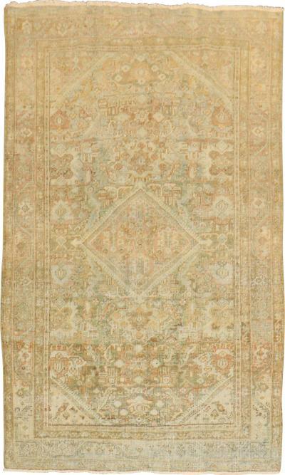 Pastel Shabby Chic Persian Mahal Rug rug no j1906