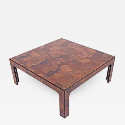 Patchwork American coffee table 1970s