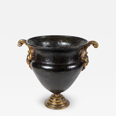 Patinated Florentine Bronze Urn