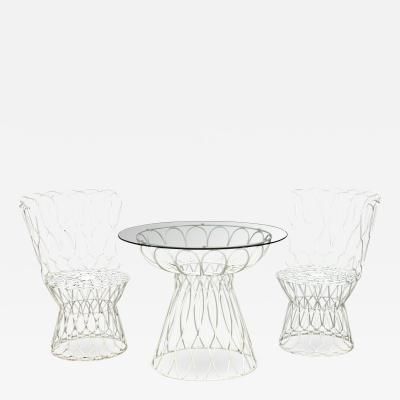 Patricia Urquiola Patricia Urquiola Re Trouve Patio Table and Chairs Set for EMU Modern Italy