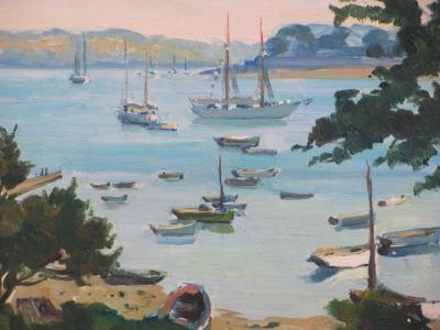 Paul ARZENS La Baie de Benodet en Bretagne
