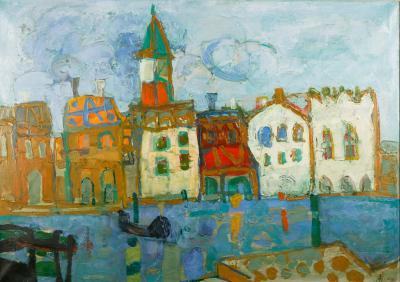 Paul Augustin Aizpiri Venice St Marks