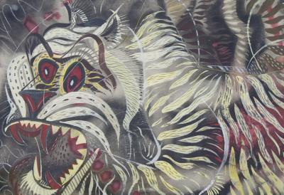 Paul Bough Travis Grey Tiger