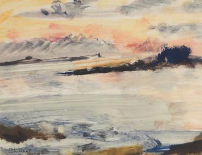 Paul Chidlaw Blushing Sky
