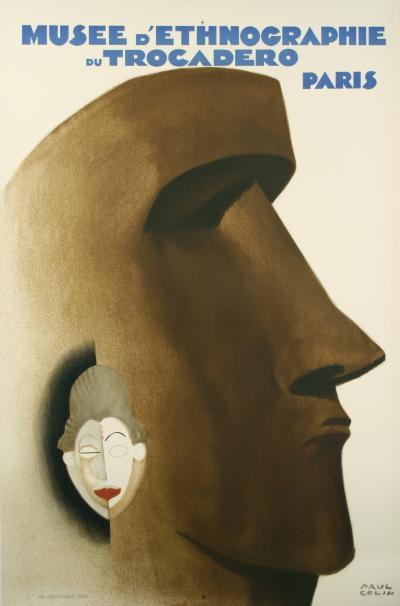 Paul Colin Original French Art Deco Stone Lithograph Museum Poster 1930