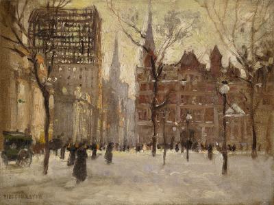 Paul Cornoyer Madison Square Park