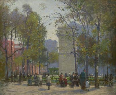 Paul Cornoyer Washington Square