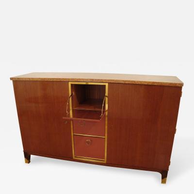 Paul Dupr Lafon Mahogany Cabinet by Paul Dupre Lafon