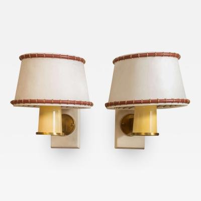 Paul Dupr Lafon Wall Sconces