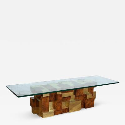 Paul Evans A Fantastic and Rare Cityscape Coffee Table by Paul Evans