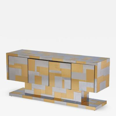 Paul Evans Cityscape Cabinet by Paul Evans